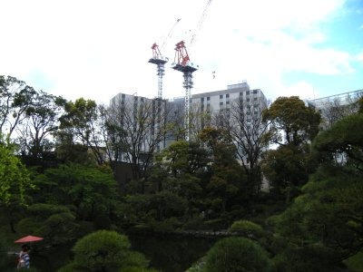 借景を壊すビル建設