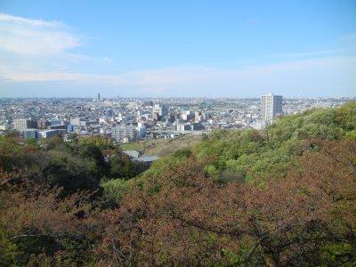 多摩水道橋・登戸宿方面の眺め