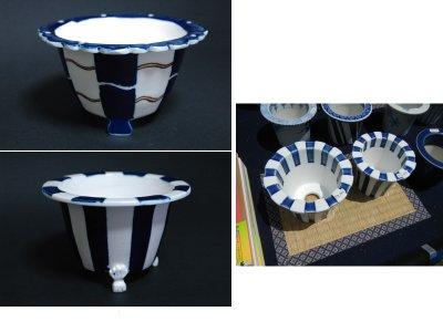 江戸植木鉢の習作