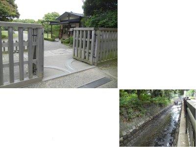 中の御門と堀