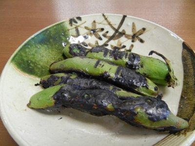 焼き空豆(さや)