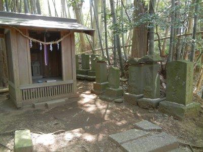 駒形神社と帝釈天