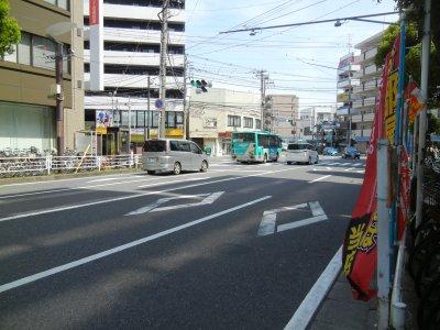 津田沼十字路