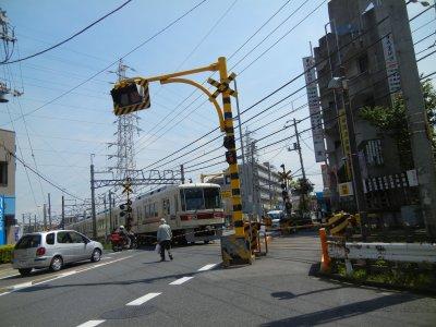 新京成線東金街道踏切