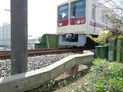 鉄道連隊線鉄橋