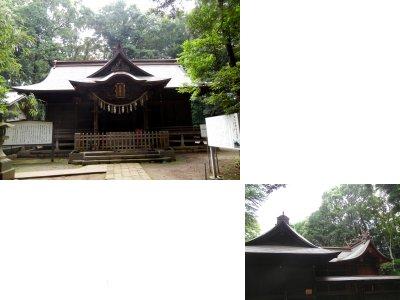 女體神社・社殿
