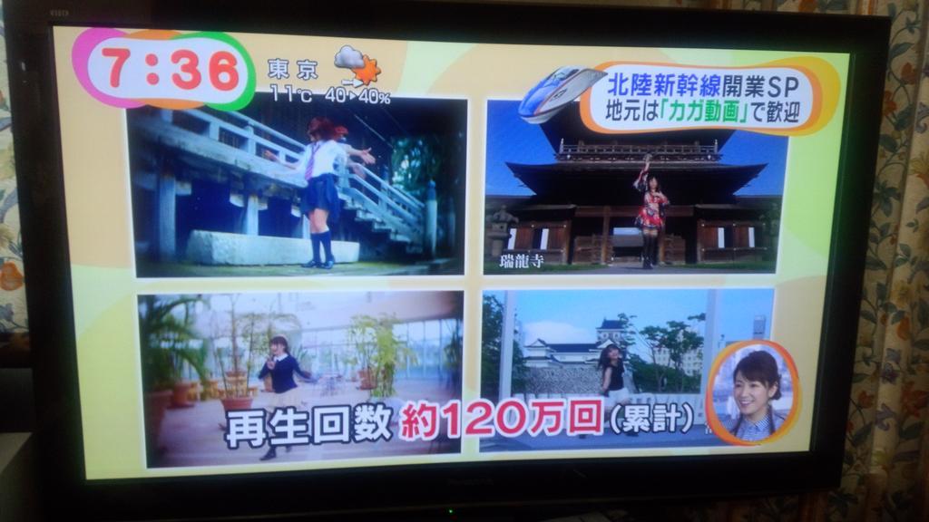 めざましテレビ 千本桜