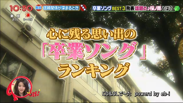 PON!で「桜ノ雨」