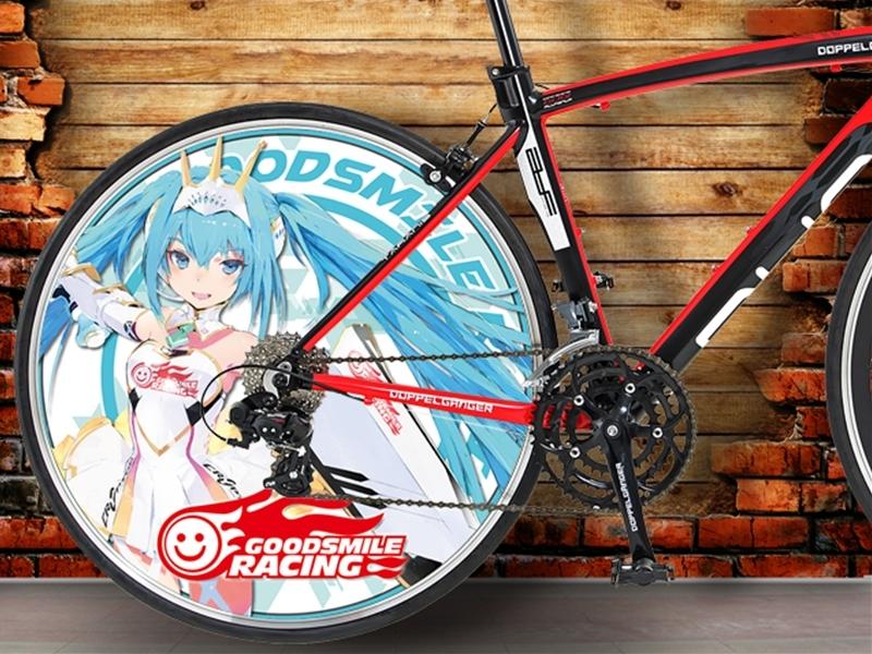 「レーシングミク2015」のクルマ&自転車用ステッカー発売!_2