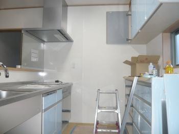 キッチン施工3 20150227