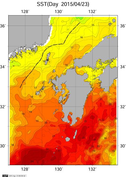 海水温 あがって来ましたね