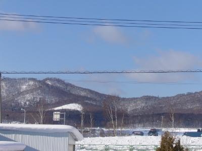 冬の晴れ間3