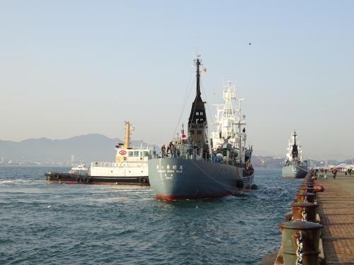 3月28日鯨類調査船