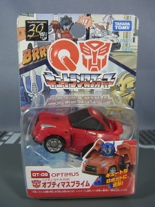 キュートランスフォーマー QT09 オプティマスプライム(ニッサン GT-R R35) QT10 ホイルジャック(ランチア ストラトス ターボ Gr.5)003