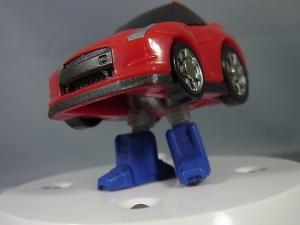 キュートランスフォーマー QT09 オプティマスプライム(ニッサン GT-R R35) QT10 ホイルジャック(ランチア ストラトス ターボ Gr.5)022