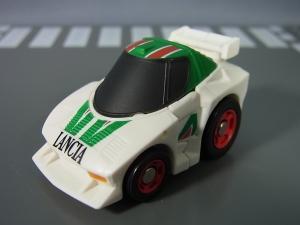 キュートランスフォーマー QT09 オプティマスプライム(ニッサン GT-R R35) QT10 ホイルジャック(ランチア ストラトス ターボ Gr.5)035