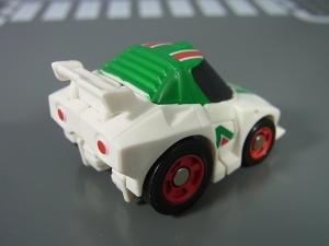 キュートランスフォーマー QT09 オプティマスプライム(ニッサン GT-R R35) QT10 ホイルジャック(ランチア ストラトス ターボ Gr.5)036