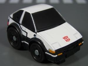 キュートランスフォーマー QT11 オートボットマイスター (トヨタ スプリンタートレノ AE86) QT12 サンストリーカー (マツダ RX-7 FD3S)002