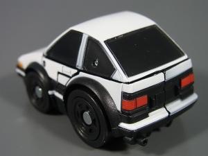キュートランスフォーマー QT11 オートボットマイスター (トヨタ スプリンタートレノ AE86) QT12 サンストリーカー (マツダ RX-7 FD3S)003