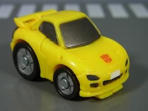 キュートランスフォーマー QT11 オートボットマイスター (トヨタ スプリンタートレノ AE86) QT12 サンストリーカー (マツダ RX-7 FD3S)012