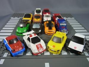 キュートランスフォーマー QT11 オートボットマイスター (トヨタ スプリンタートレノ AE86) QT12 サンストリーカー (マツダ RX-7 FD3S)030
