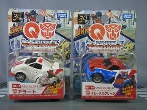 キュートランスフォーマー QT13 アラート (ランボルギーニ カウンタックLP500S) QT14 スモークスクリーン (ニッサン フェアレディZ 280Z-T001