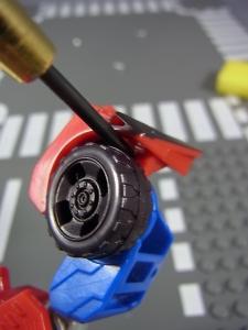 TF RID OPTIMUS PRIME 改造&アクション014