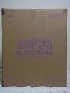 千値練 TRANSFORMERS ギガンティックアクション 暗黒大帝ブラックザラック001