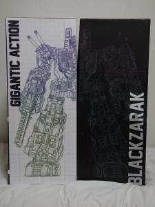 千値練 TRANSFORMERS ギガンティックアクション 暗黒大帝ブラックザラック005