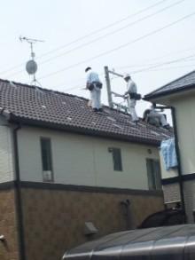 $加古川 太陽光発電 販売会社エコプラスワンの太陽光発電 施行実績ブログ-110402_1154~01.jpg