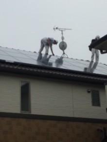$加古川 太陽光発電 販売会社エコプラスワンの太陽光発電 施行実績ブログ-110402_1515~01.jpg