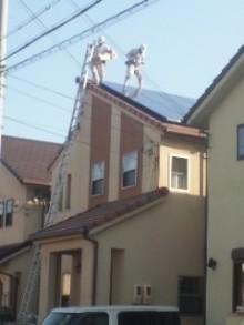 $加古川 太陽光発電 販売会社エコプラスワンの太陽光発電 施行実績ブログ-110412_1618~01.jpg