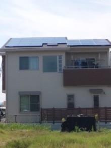 加古川 太陽光発電 販売会社エコプラスワンの太陽光発電 施行実績ブログ-110630_1426~01.jpg