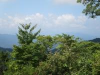いつもならこの角度に富士山が見える
