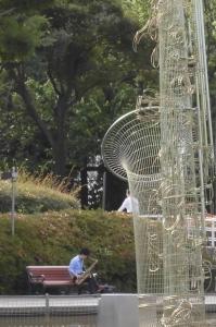 朝の北浦和公園