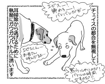 羊の国のラブラドール絵日記シニア!!「ワンパターン(犬なだけに(* ̄m ̄)プッ)」3