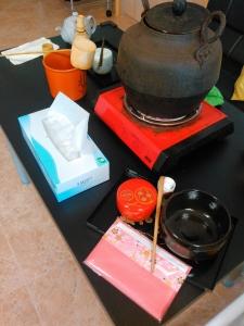 お茶会 作業場2