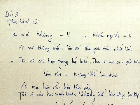 ベトナム語クラス1
