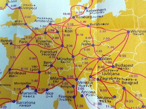 ヨーロッパ地図2