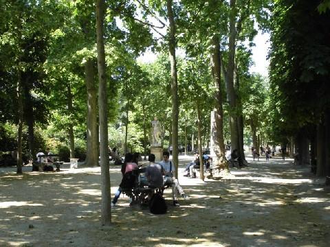 リュクサンプール公園4