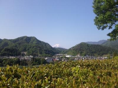 初狩PAより富士山20150508