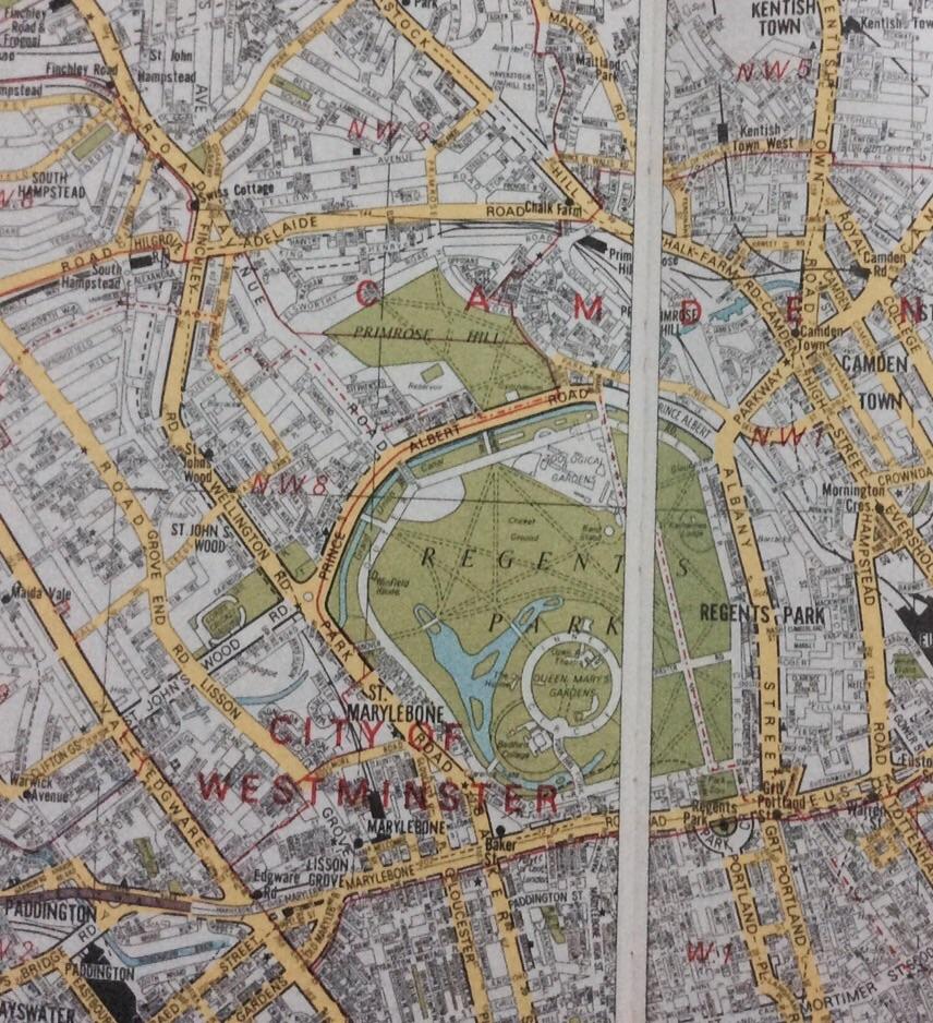 ロンドン地図