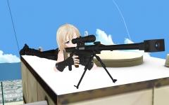 狙撃体制…?