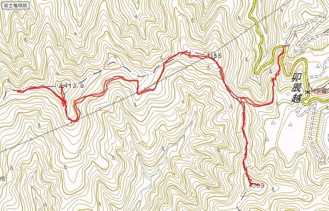 s-藍染山トレース