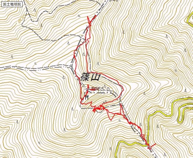 s-篠山トレース