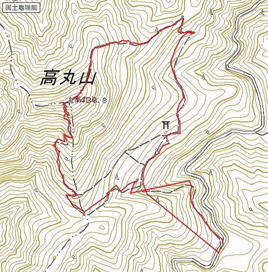 s-高丸山トレース