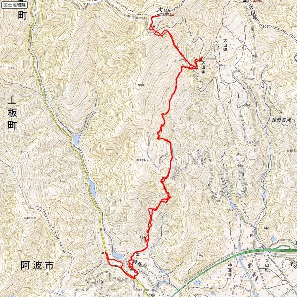 s-大山トレース