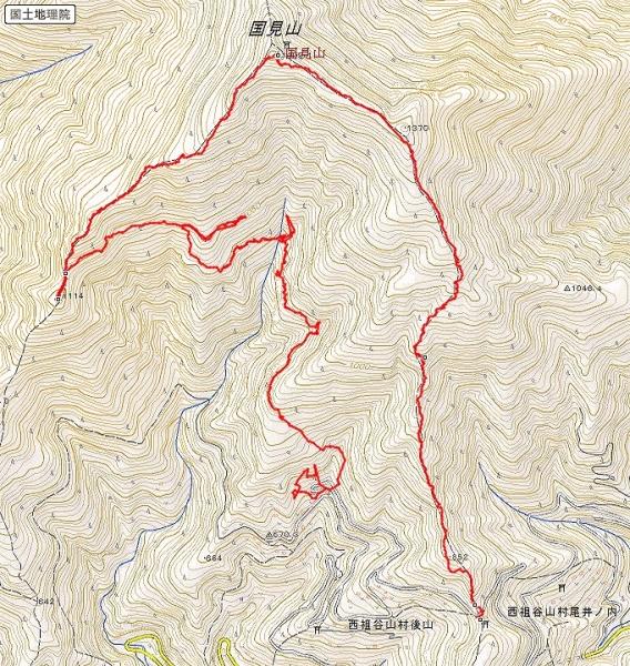 s-国見山トレース