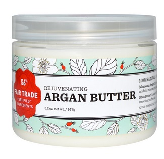 Nourish Organic, Rejuvenating Argan Butter,
