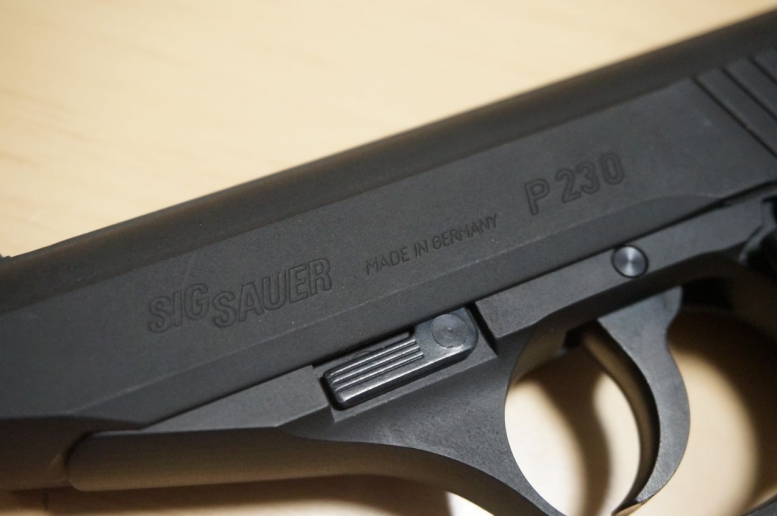 SIG P230 レビュー (7)